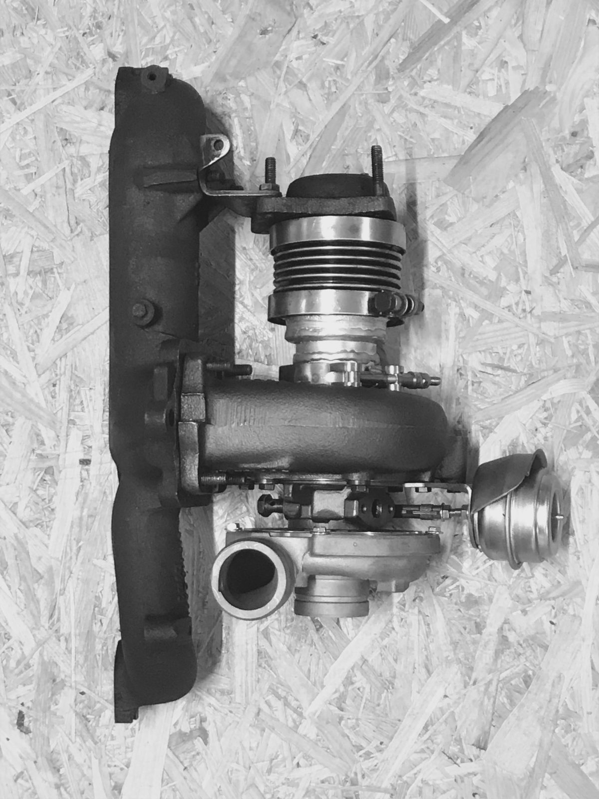 Turbo T4  to T3 manifold modification